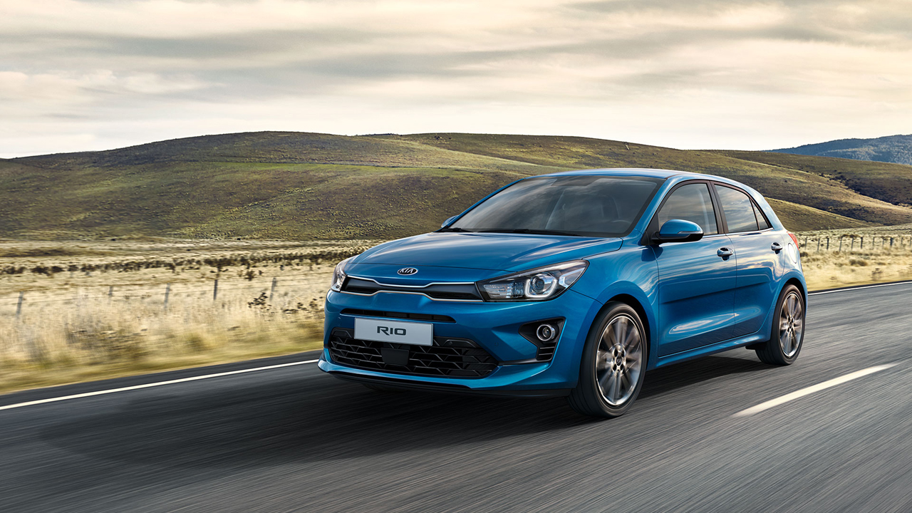 Updated Kia Rio gains mild-hybrid tech and clutch-by-wire