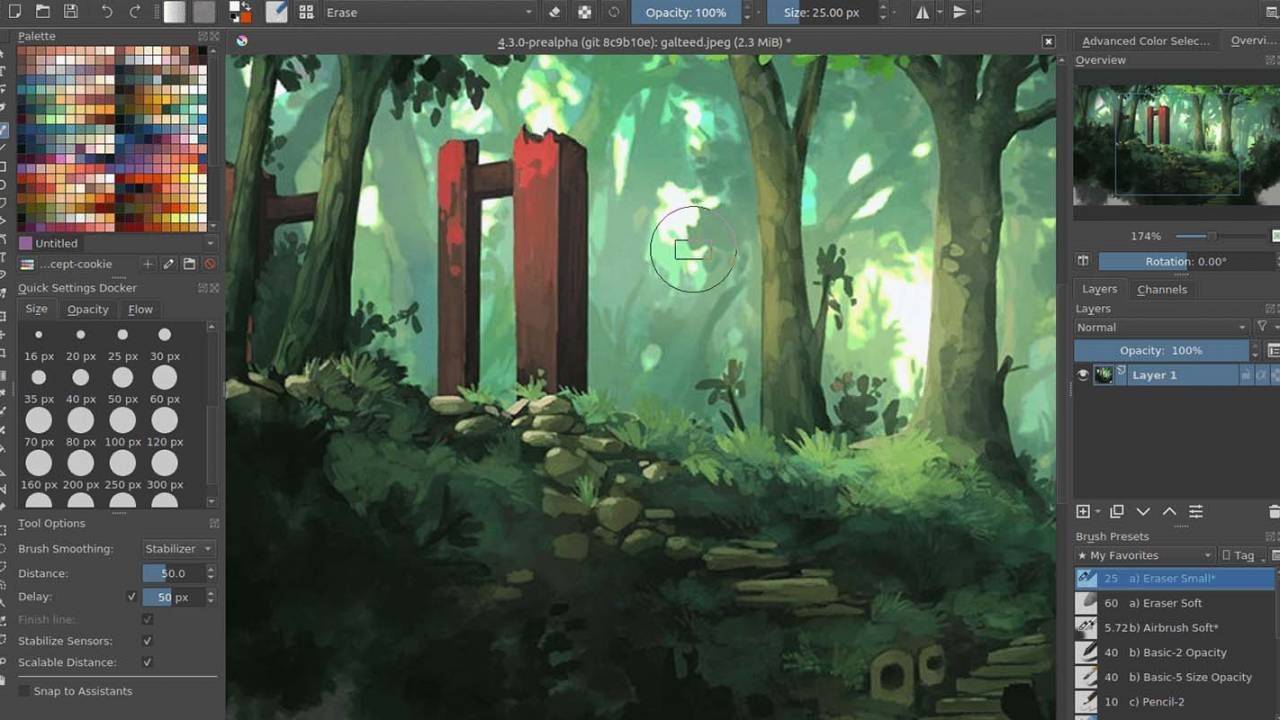 Krita open source digital painting app arrives on Chrome OS and Android