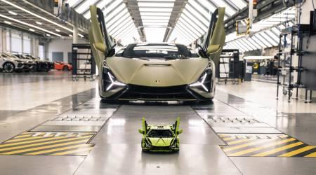 Epic LEGO Technic Lamborghini Sián FKP 37 building kit has nearly 3700 pieces