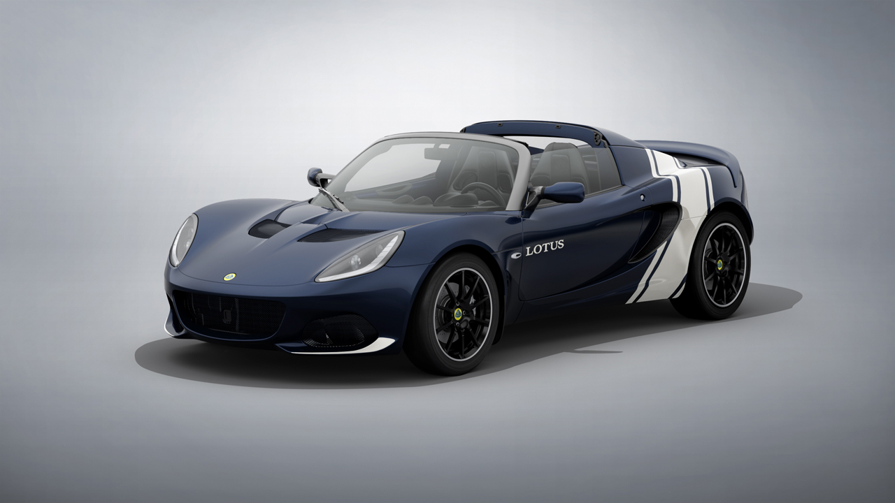 Lotus Elise Classic Heritage Editions pay tribute to Lotus racing history