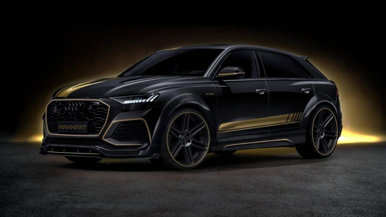 Audi RS Q8 by Manhart takes it to the extreme