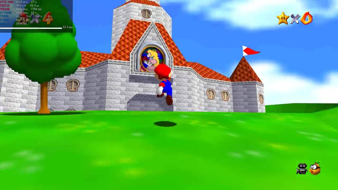 Super Mario 64 native PC port supports 4K and Xbox controllers