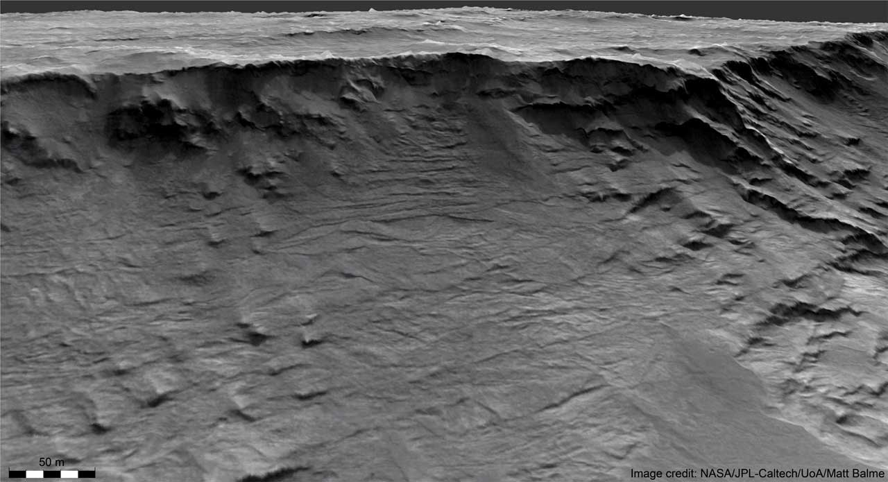 Scientists find the first evidence of Martian rivers in long-term action