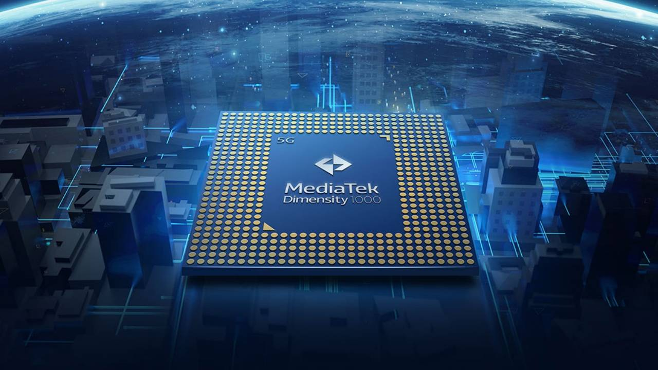 MediaTek Dimensity 1000+ integrates the 5G chip inside