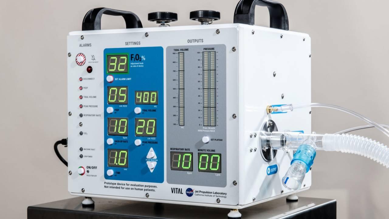NASA's coronavirus ventilator has one huge advantage
