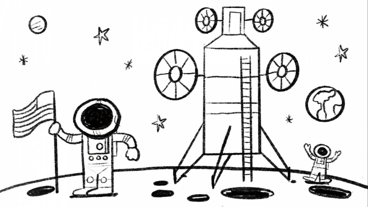 NASA inspires kids with new free space-themed coloring pages