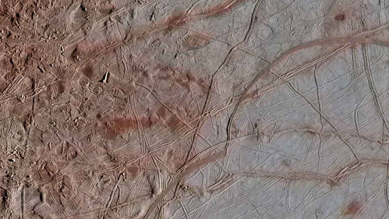 NASA reprocessed Europa images from the '90s to reveal stunning details