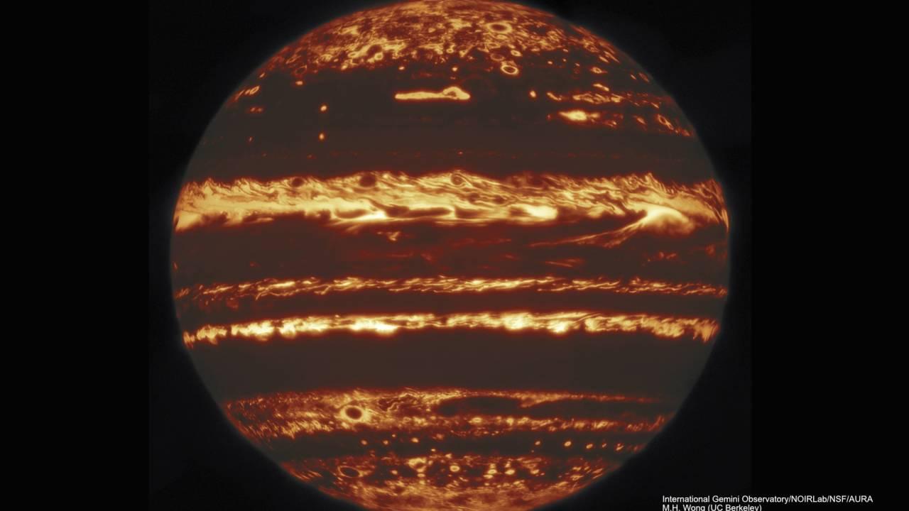 "Mesmerizing ""lucky"" Jupiter image reveals monumental storm secrets"