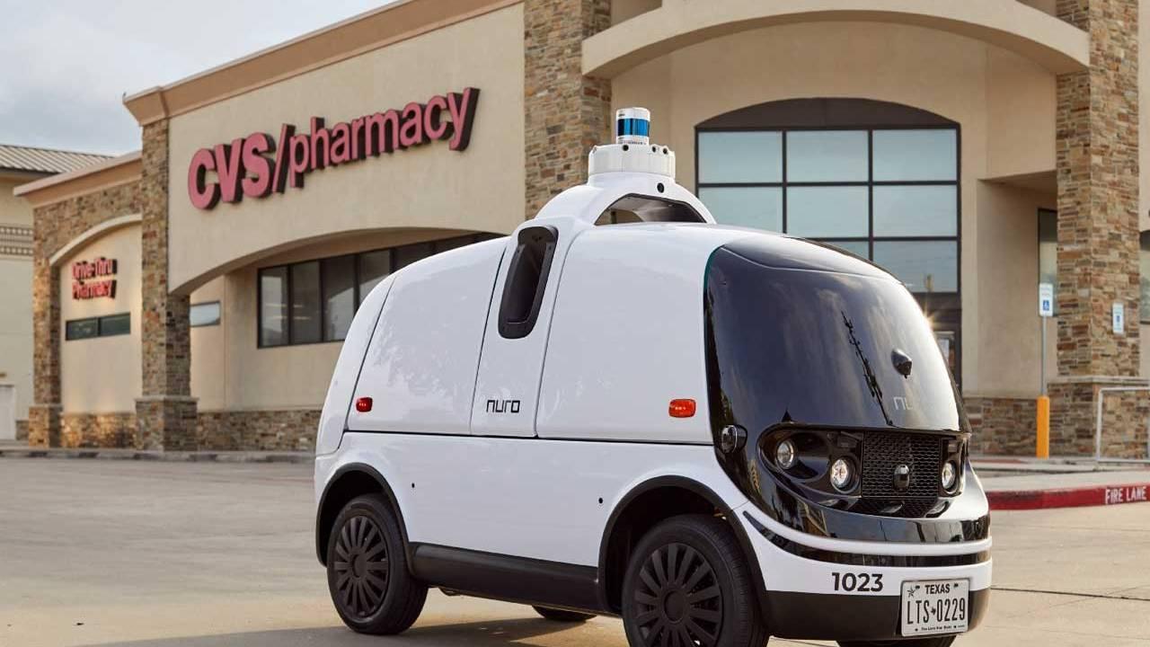Nuro and CVS Pharmacy team for autonomous prescription delivery