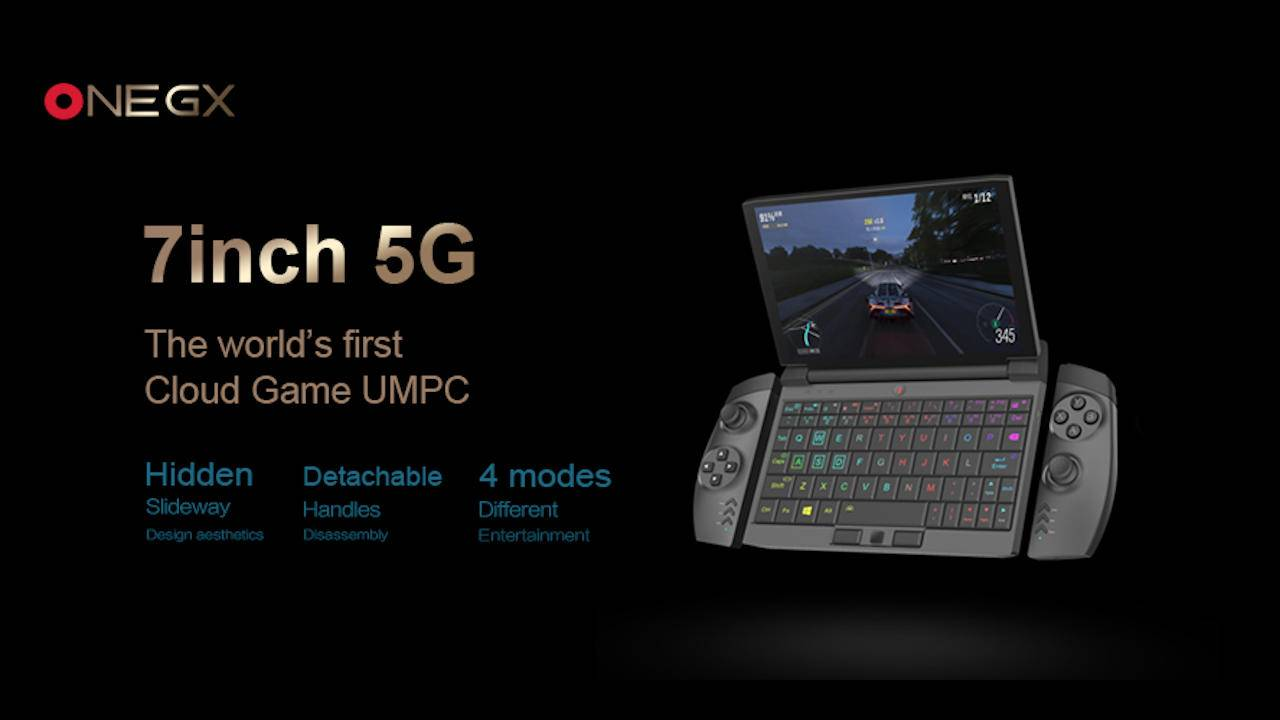 One GX 7-inch 5G gaming handheld PC looks good but raises questions