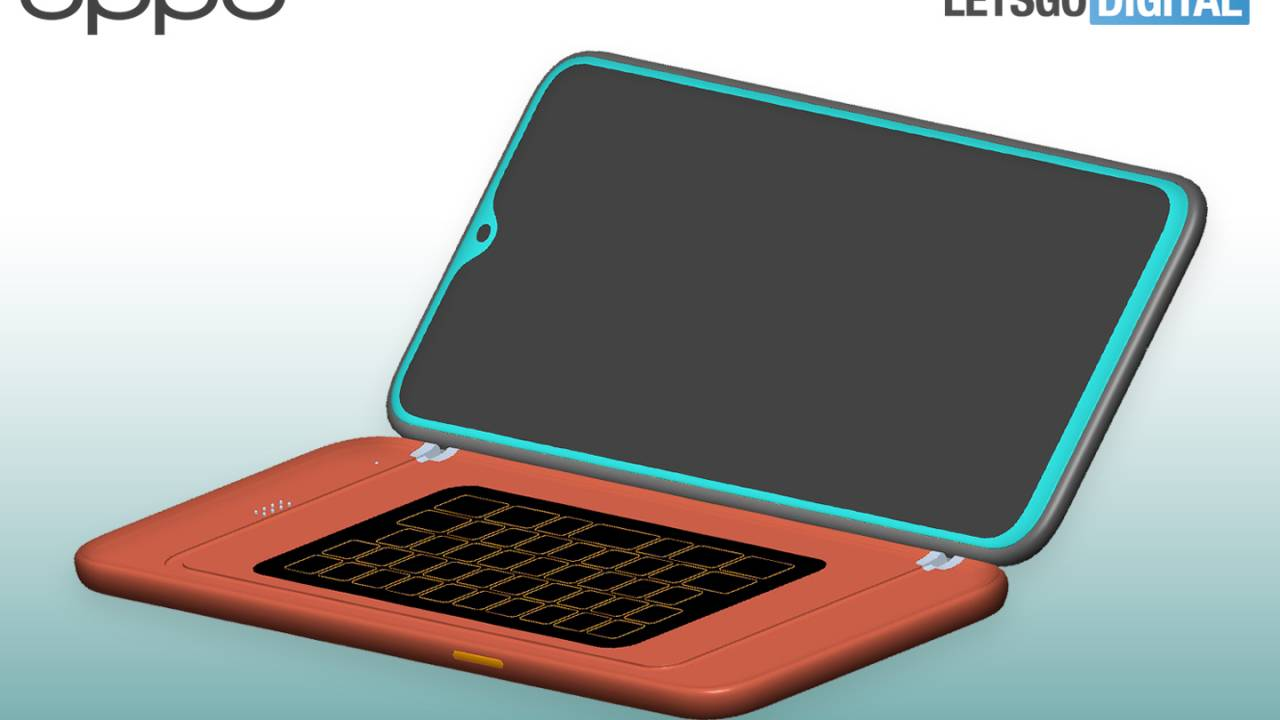 OPPO patent reveals a keyboard case accessory