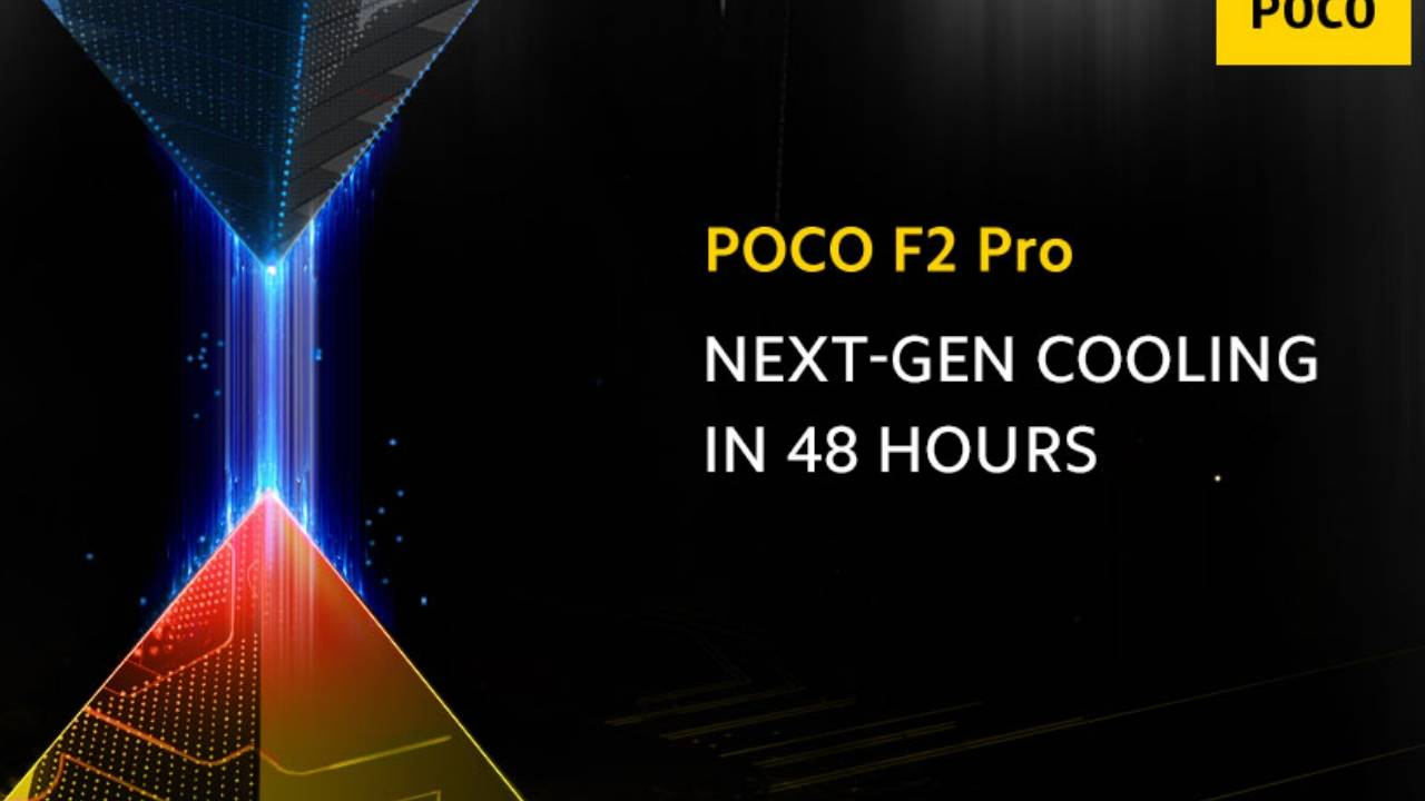 POCO F2 Pro coming next week, next-gen cooling teased