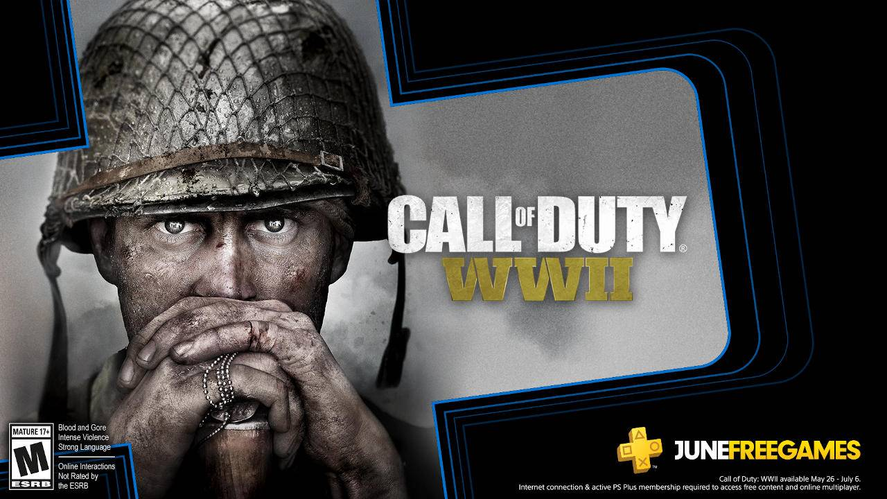 PlayStation Plus makes Call of Duty: WWII free for June, others TBA