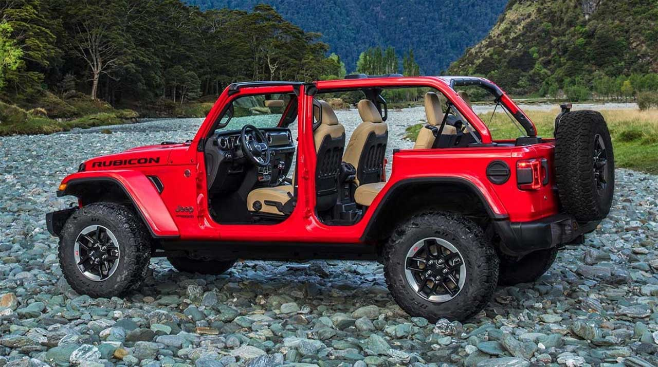 2019 Jeep Wrangler Four-door earns a marginal rating after flipping over in a crash test