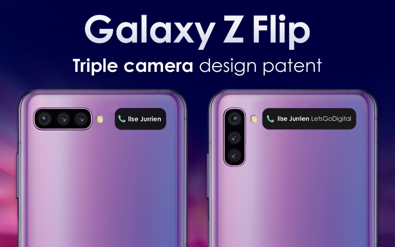 Galaxy Z Flip 2 Could Have Three Cameras But A Larger Cover Display Slashgear