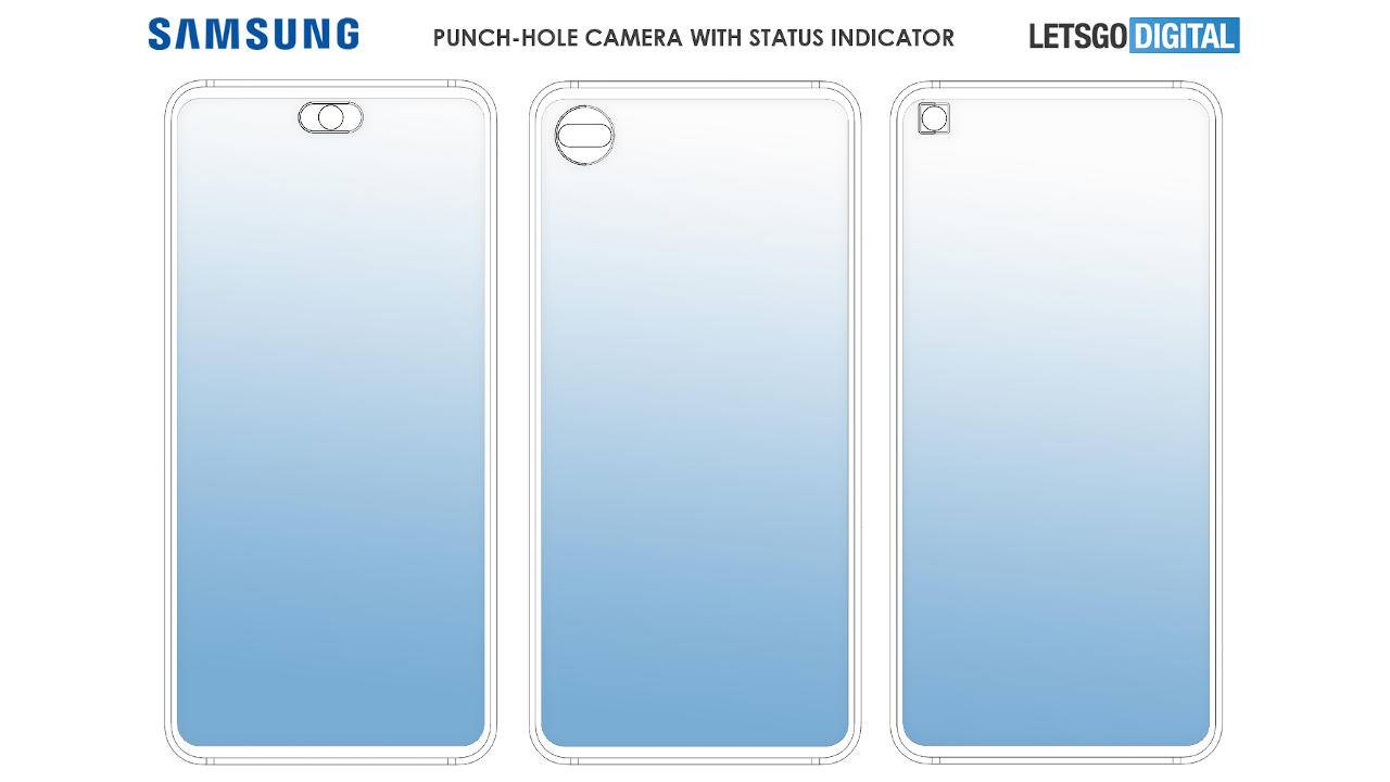 Galaxy Note 20 punch-hole camera could have a status indicator around it