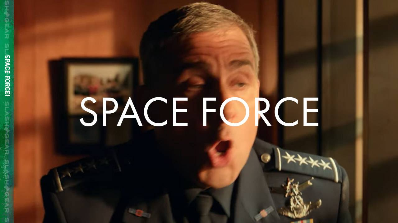 Steve Carell's Space Force trailer tips Netflix release date