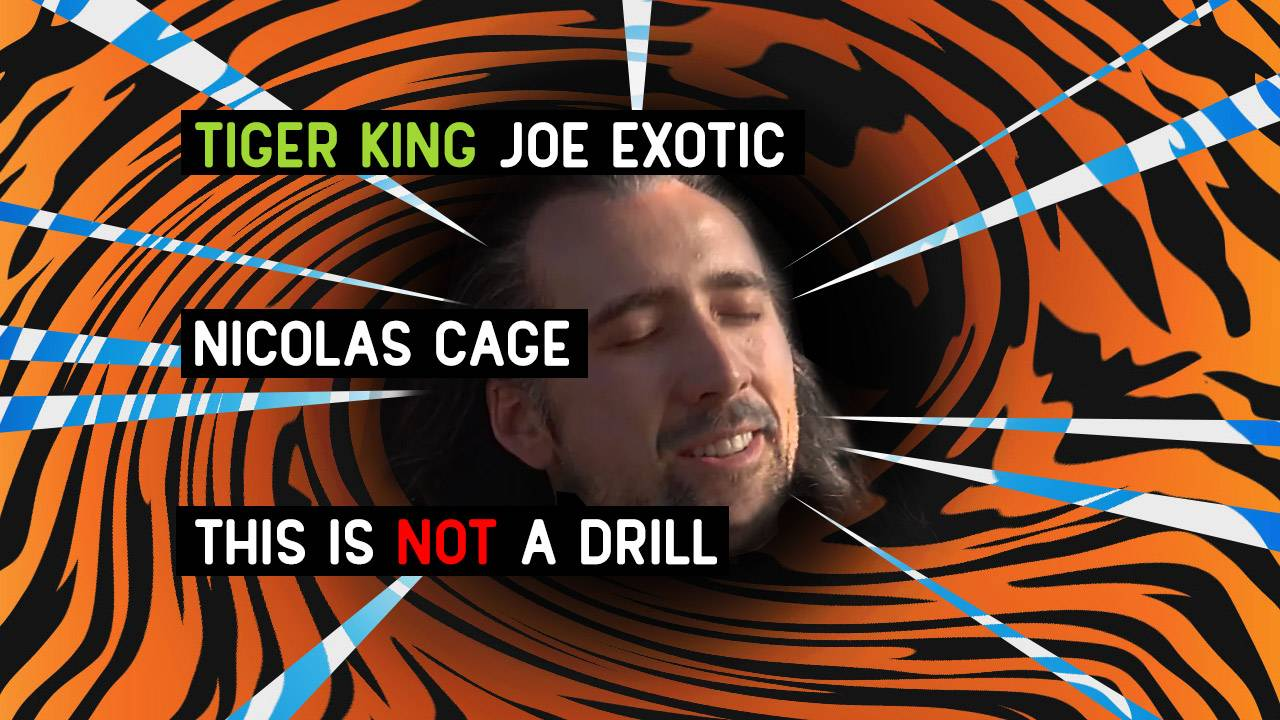 Nicolas Cage to play Joe Exotic in Tiger King series