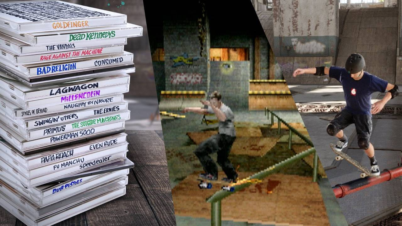 Tony Hawk's Pro Skater 1+2 soundtrack playlist released to Spotify