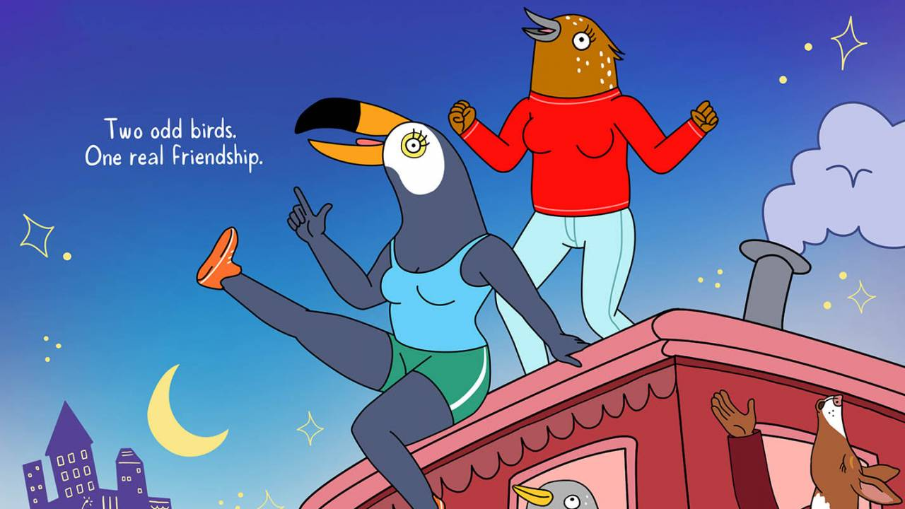 Netflix's canceled Tuca & Bertie animation revived by Adult Swim