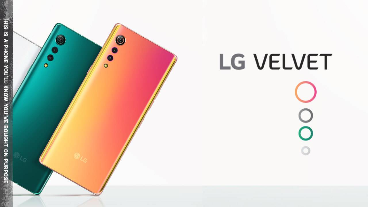 LG Velvet phone revealed in full: Suddenly, a star