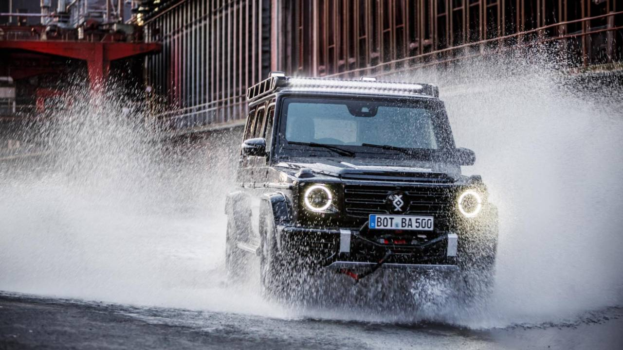 The Brabus Invicto Mercedes G-Class is a new age armored SUV