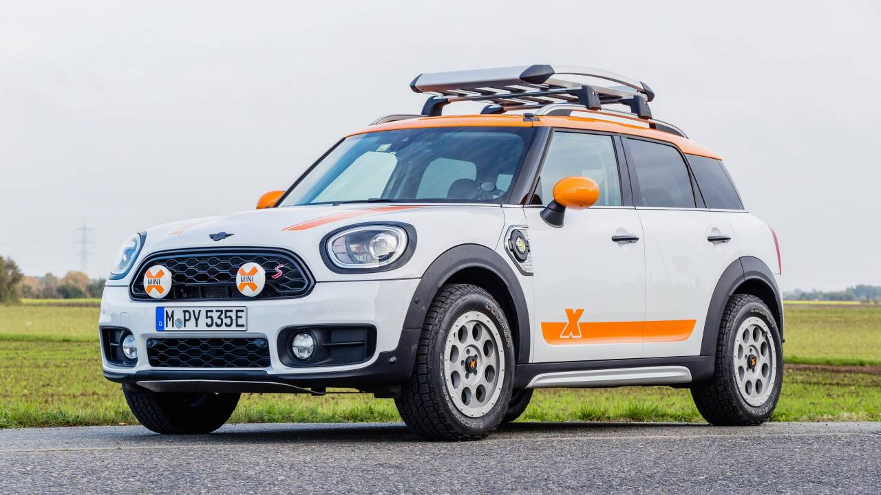 Mini Countryman by X-Raid is ready for the wilderness