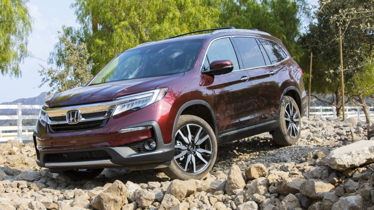 2021 Honda Pilot receives more standard kit including a nine-speed automatic gearbox