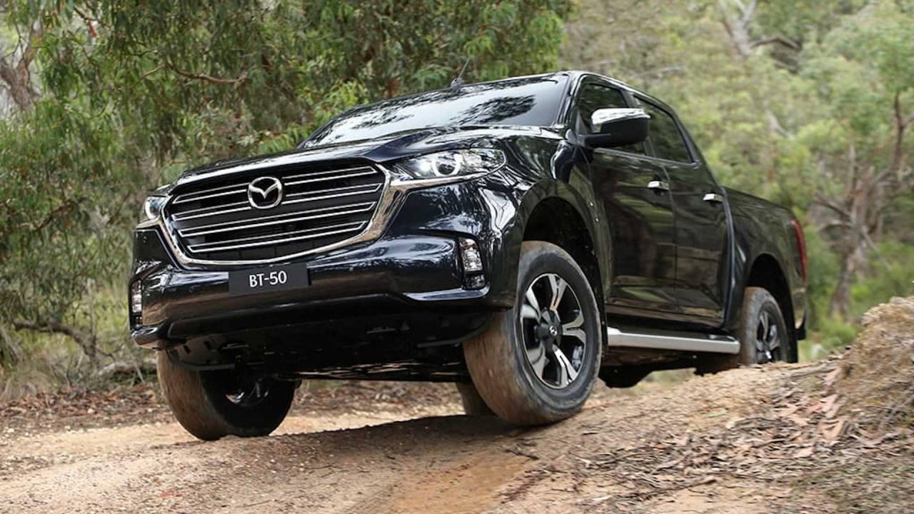 2021 Mazda BT-50 pickup truck debuts with Isuzu underpinnings