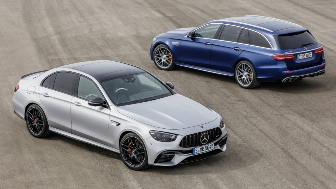 2021 Mercedes-AMG E 63 S Sedan and Wagon take on M5 and RS6 Avant