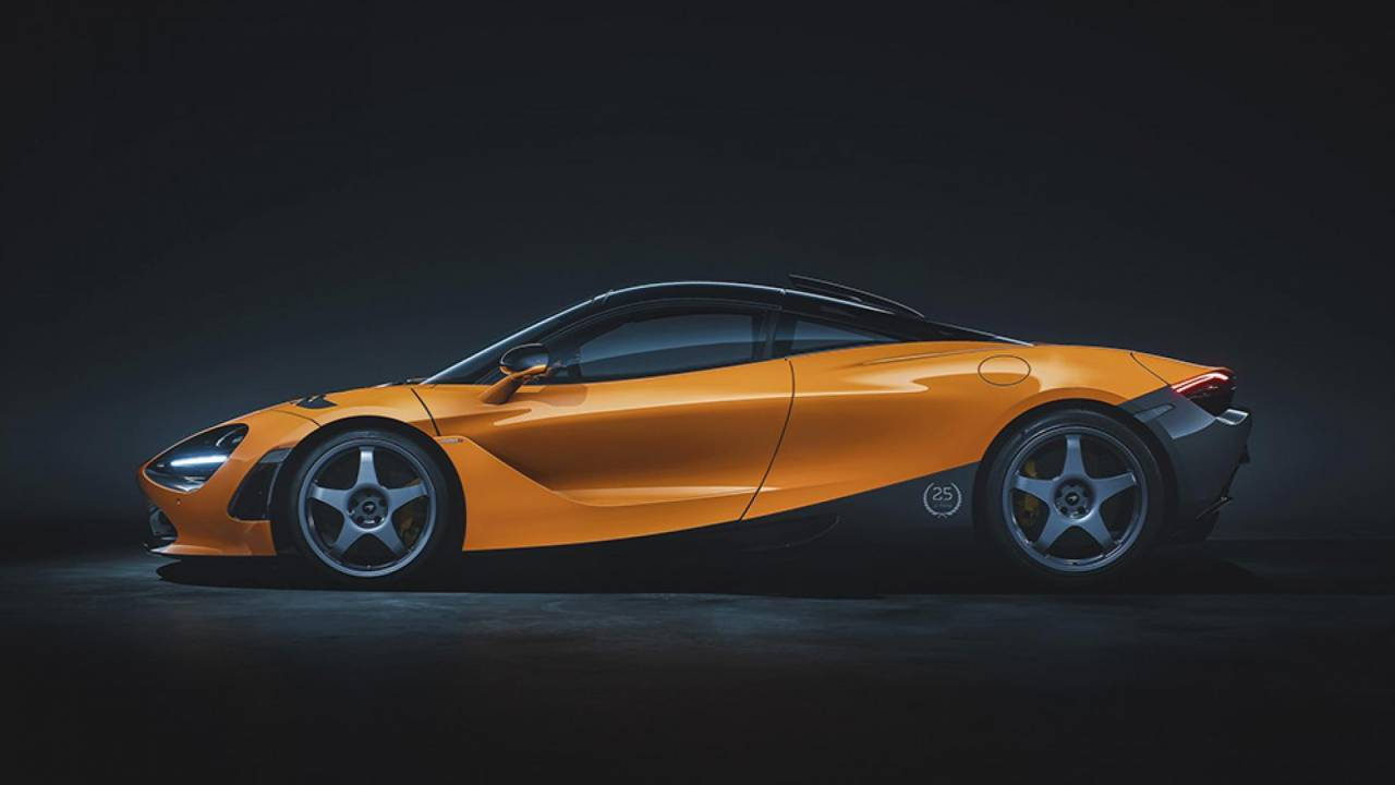This McLaren 720S celebrates the F1 GTR's historic win at Le Mans