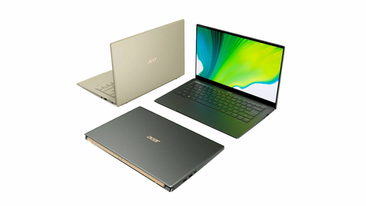 Acer Swift 5 refresh touts improved thermals, antimicrobial display