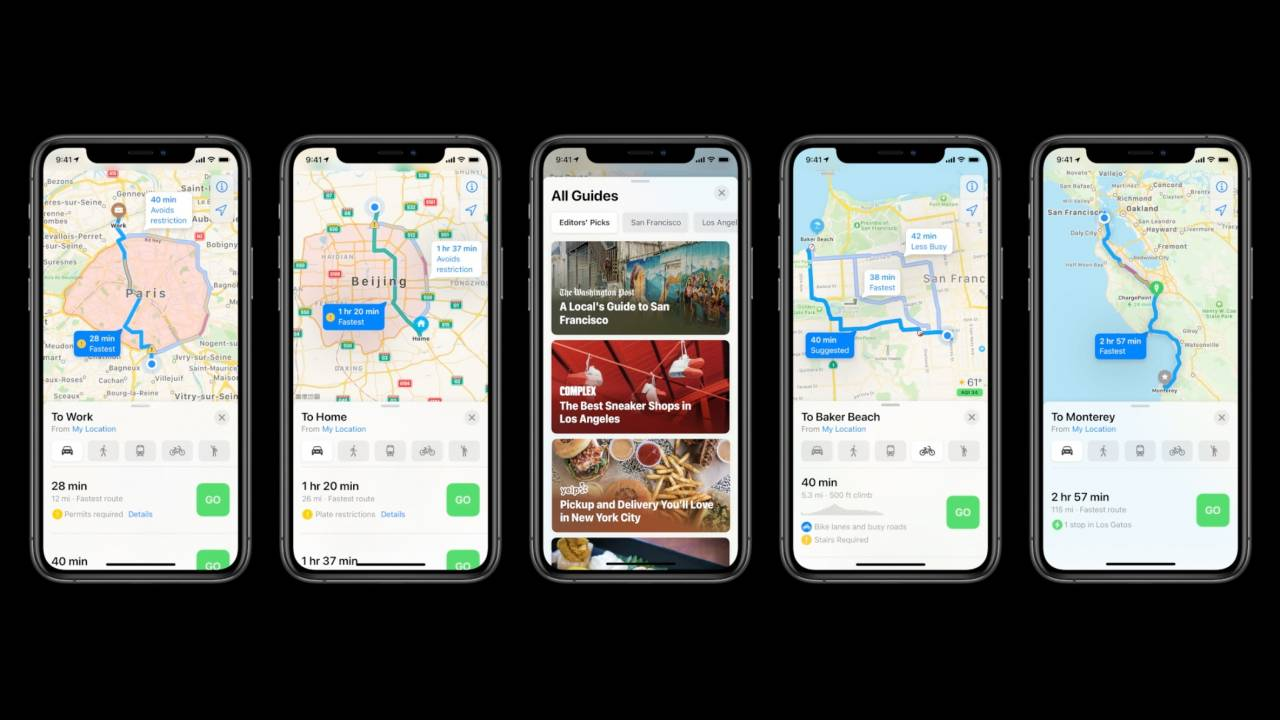 iOS 14 adds cycling and EV navigation plus new CarPlay and iPhone-as-key