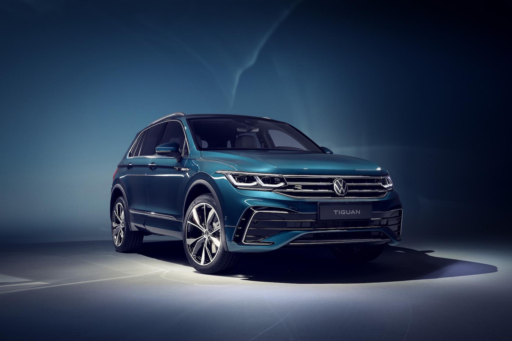 2021 Volkswagen Tiguan brushes up bestseller with new ...