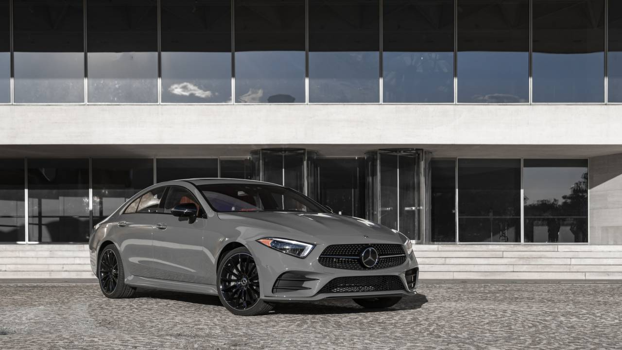 2021 Mercedes-Benz CLS receives updated MBUX multimedia and new paint colors