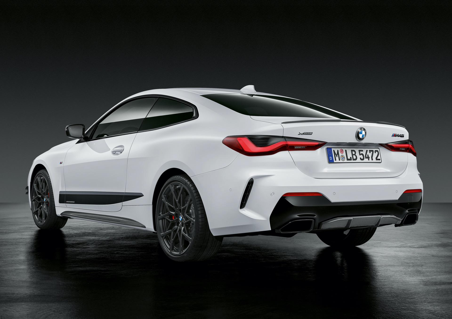 2021 BMW 4-Series Coupe M Performance Parts package ...