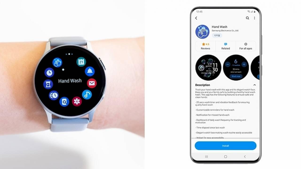 Samsung Hand Wash smartwatch app helps you form a healthy habit