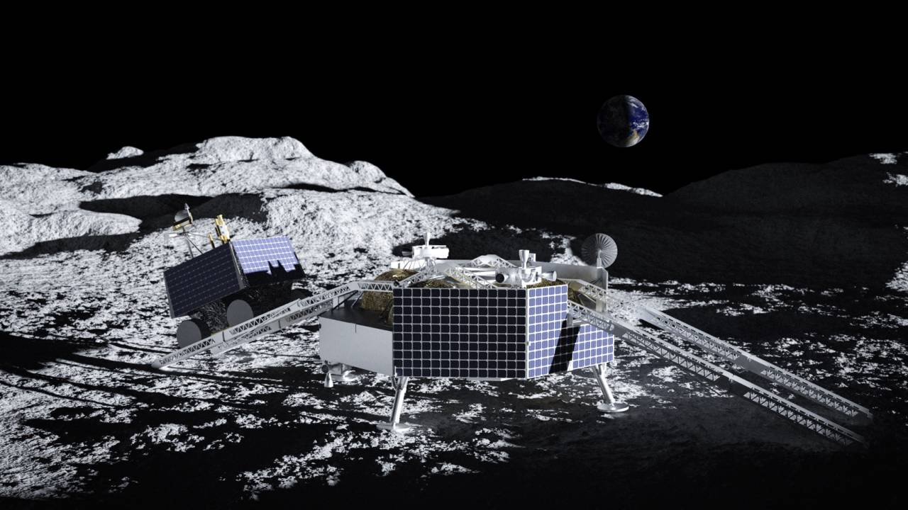 NASA reveals water-hunting VIPER rover's ride to the Moon