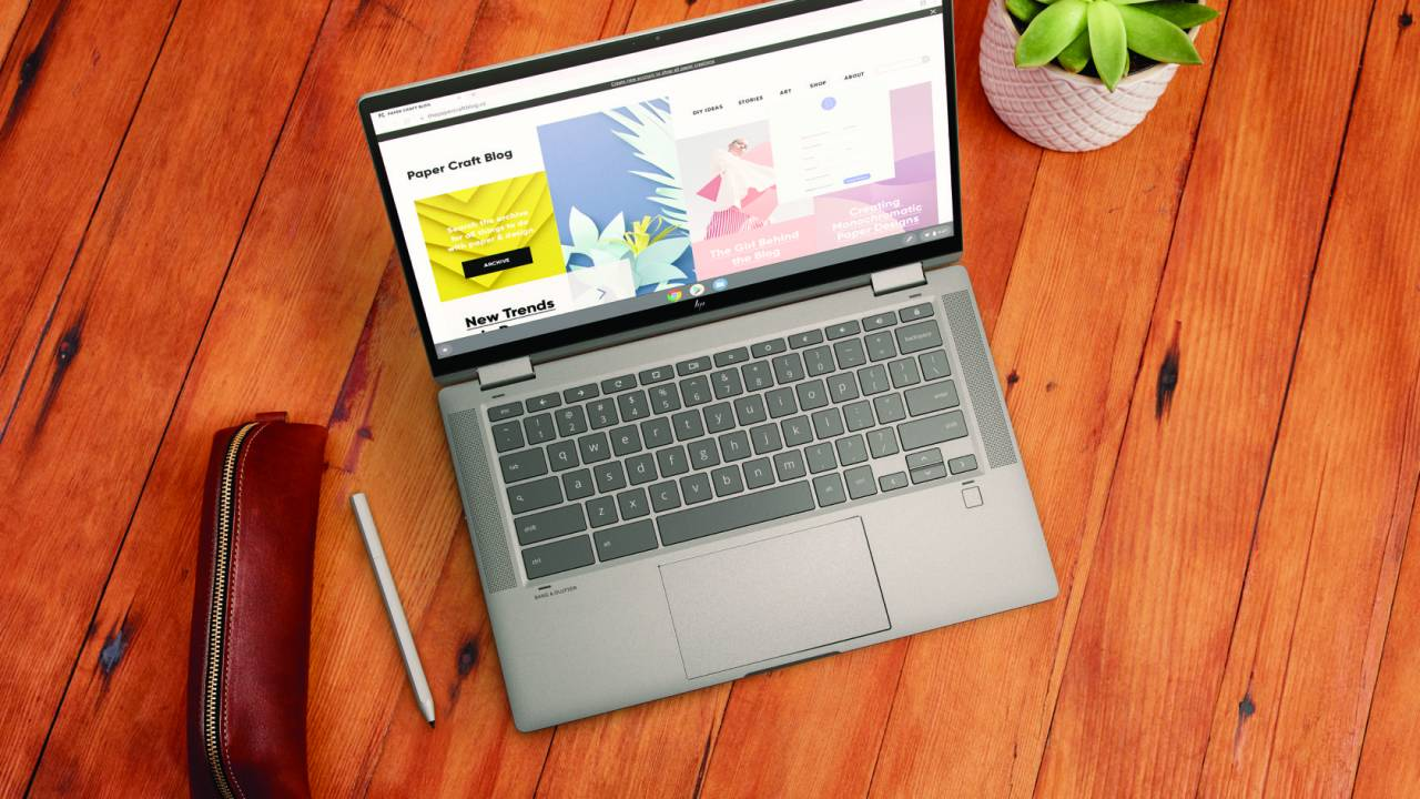 HP Chromebook x360 14c premium Chrome OS notebook is oddly affordable