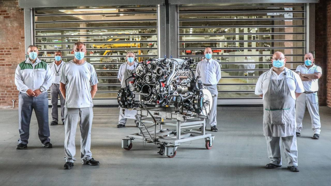 Bentley retires its 6.75-liter V8 engine after 61 years of service