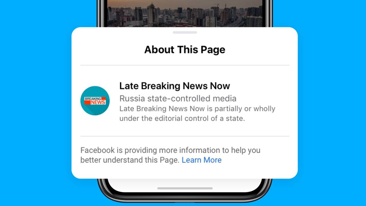 Facebook labels state-controlled media ahead of US elections