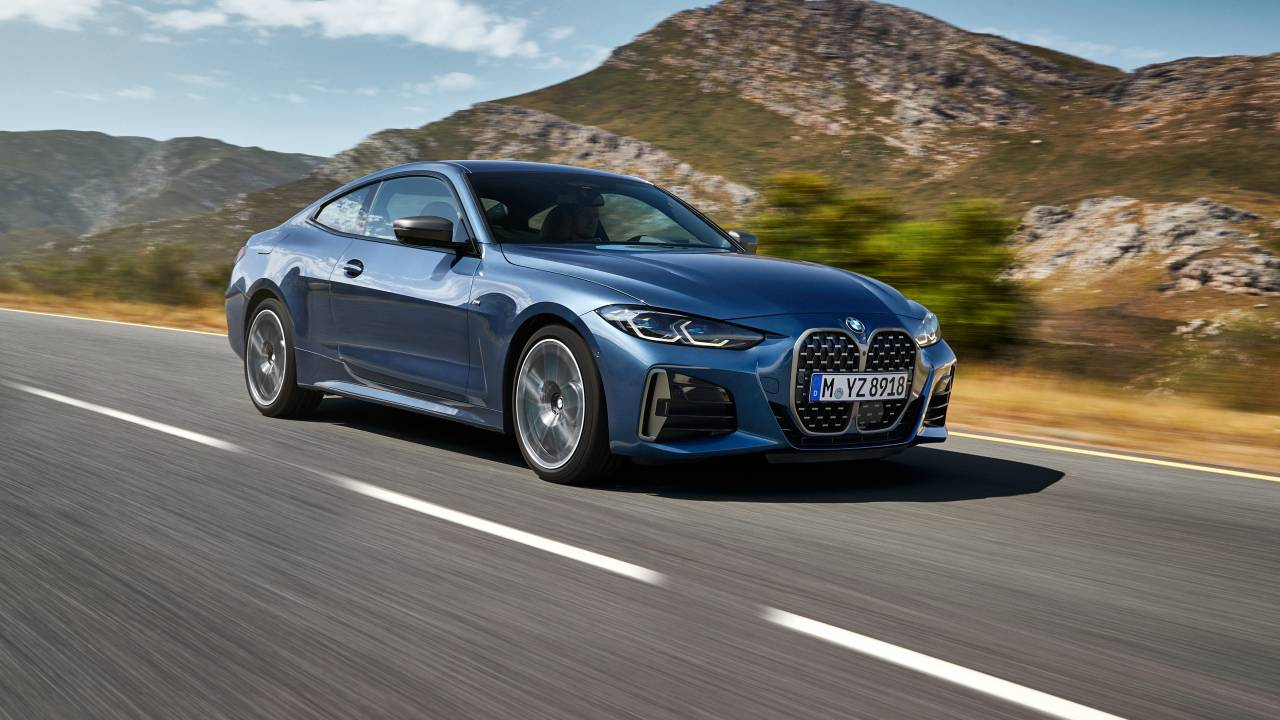 2021 BMW 4-Series Coupe debuts with a new face and more power