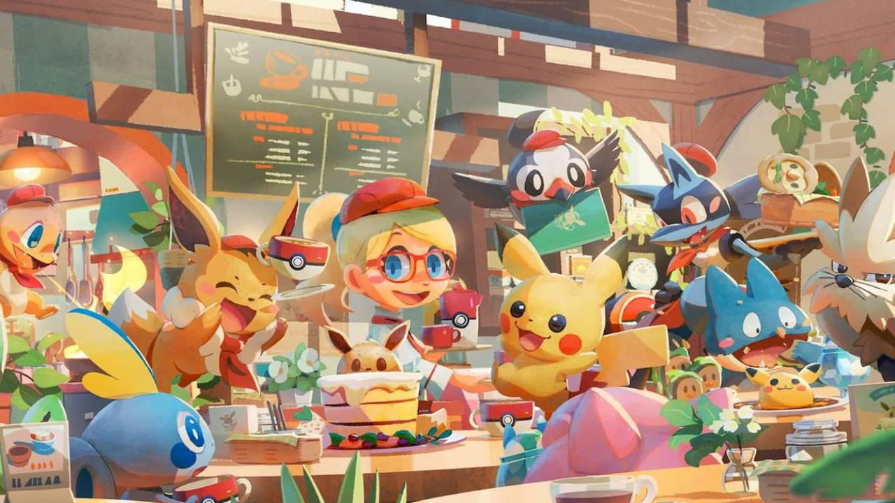 Pokemon Cafe Mix lets you make Pikachu a latte