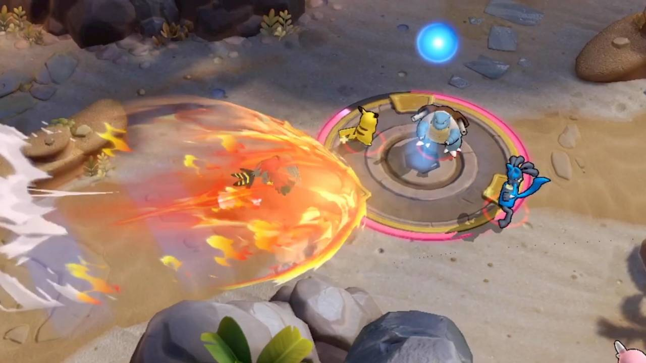 Pokemon Unite gets a surprise reveal with MOBA-like gameplay