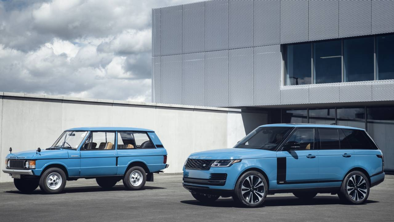 Range Rover Fifty gives iconic luxury SUV a 50th surprise