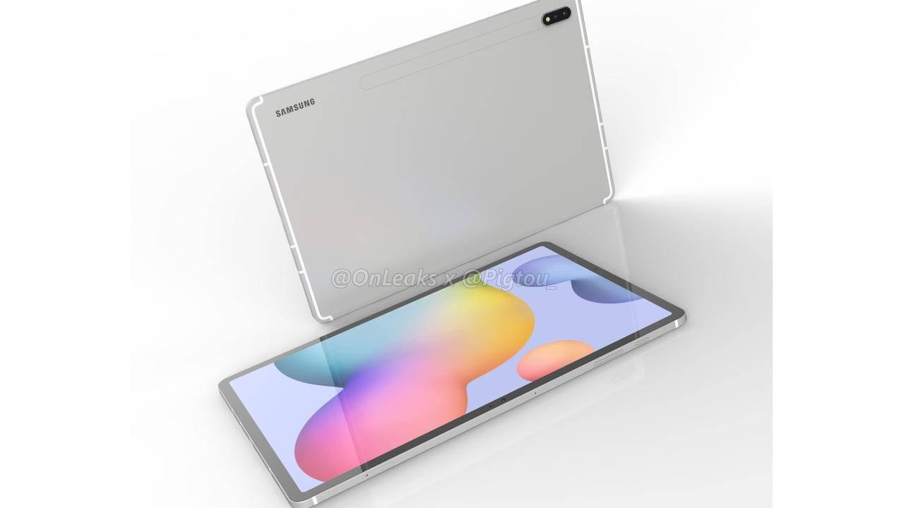 Galaxy Tab S7+ renders show Samsung's 12-inch iPad Pro
