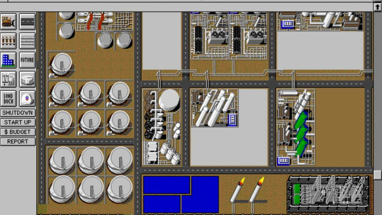 Legendary SimRefinery game released for free after 30 years in hiding