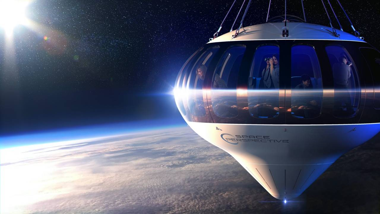Space tourism startup plans big-ticket balloon rides to the atmosphere's edge