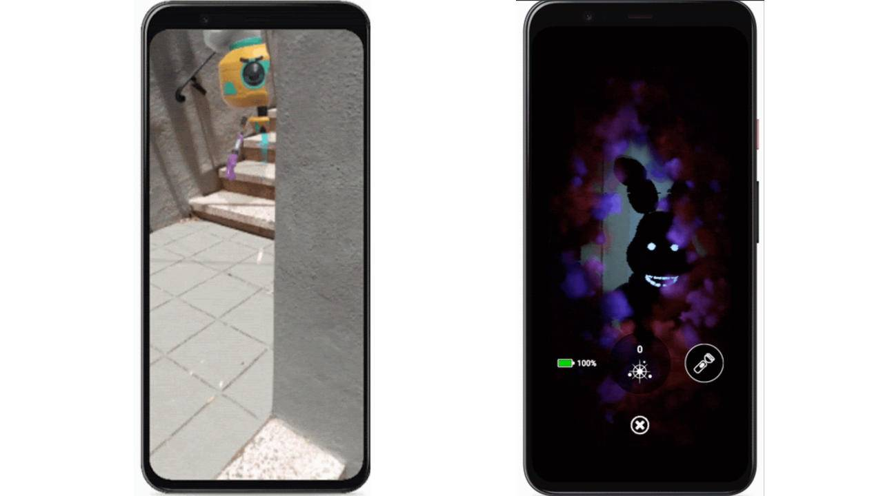 ARCore Depth API is now ready to hide AR objects behind real objects