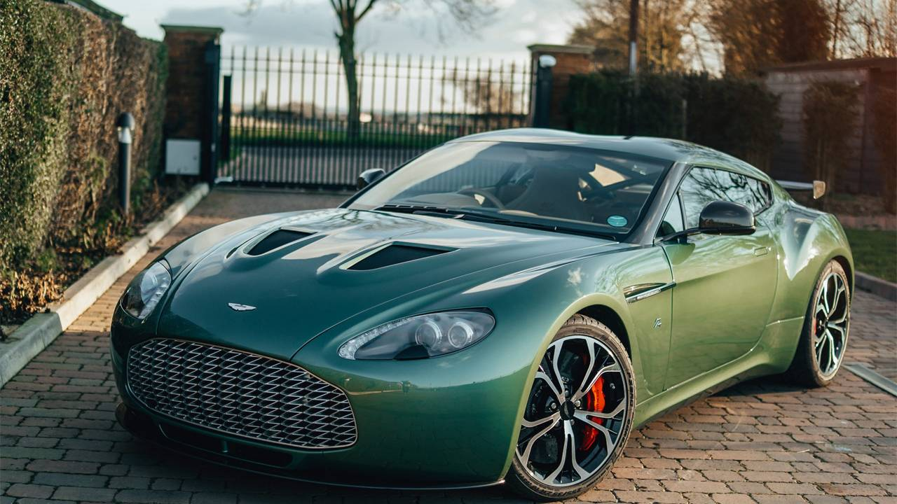 Here's your chance to own an all-aluminum 2012 Aston Martin Zagato